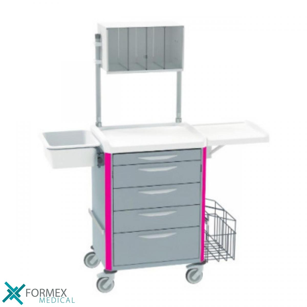 medical carts on wheels, medical carts, carts on wheels, medische karren, medicijnwagen, medicatiekar, medicijnkarren, ziekenhuis karren, ziekenhuis trolley, computer on wheels, laptop carts, mobiele werkplek